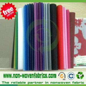 Polypropylene Nonwoven Fabric in Spunbonded Technics 100% pictures & photos