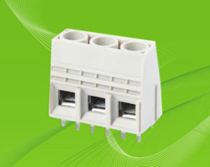 Screw Terminal Block with Dual-Row Pin Header 750V/57A pictures & photos