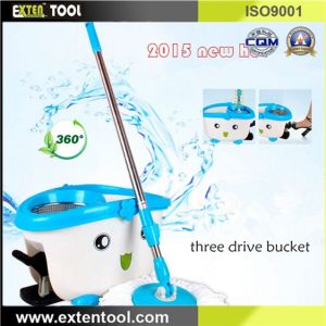 Durable Stainless Steel Mop Bucket with Pedal