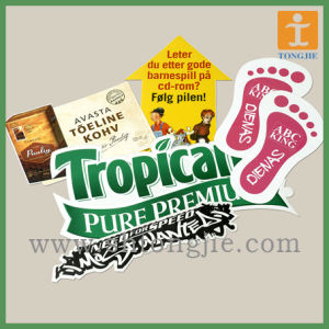 Custom Window Cling, Car Decal, Floor Decal Graphic Window Sticker for Store (TJ-FL-003) pictures & photos