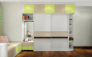 Desk and Wardrobe Cabinet Furniture (zy-058) pictures & photos