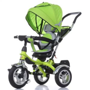 China Baby Push Tricycle Stroller Children Scooter Kids 4 in 1 Tricycle pictures & photos