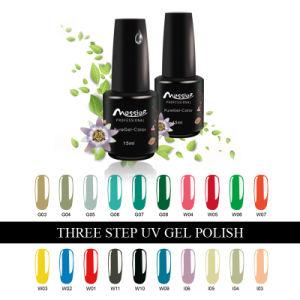 Long Lasting Nail Art Three Steps15ml 184 Colors UV Gel Polish pictures & photos