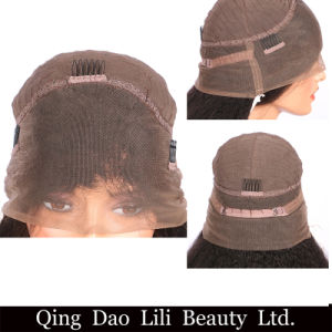 Brazilian Loose Wave 360 Lace Wig with Bundles Remy Hair Pre Plucked Full 100% Human Hair Wigs with Baby Hair pictures & photos