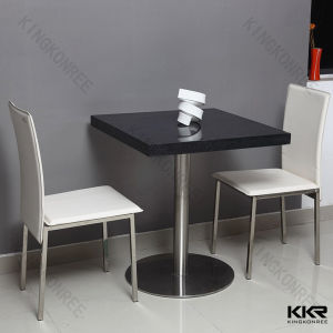 China Custom Made Solid Surface Restaurant Dining Tables