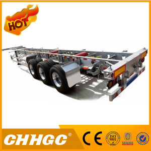 Aluminium Steel Skeleton Semi Trailer pictures & photos