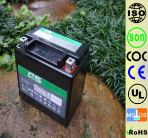 YT7 YTX7L 12V6AH High Starting Performance AGM Sealed maintenance free lead acid motorcycle battery pictures & photos