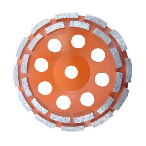 Diamond Double Row Cup Wheel for Porcelin Tiles pictures & photos