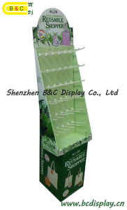 Shopping Paper Hooks Display, Cardboard Hooks Display Stand, Gift Box, Paper Dump Bin (B&C-B001) pictures & photos