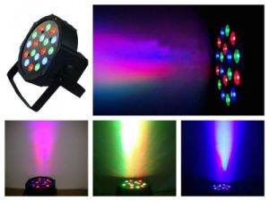 Cheap Plastic RGB LED PAR Can Stage Lighting pictures & photos