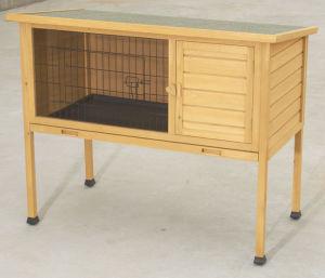 Wooden Rabbit Hutch (5663-0535)