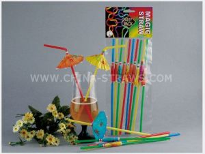 High Quality 5mm*240mm Decoration Straw pictures & photos