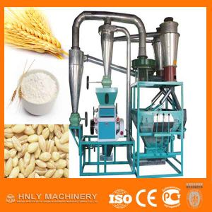 High Output Wheat Flour Mill with Vibrating Feeder System pictures & photos