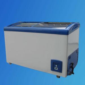 Glass Door Freezer, Display Freezer, Ice Cream Freezer SD/Sc-308y pictures & photos