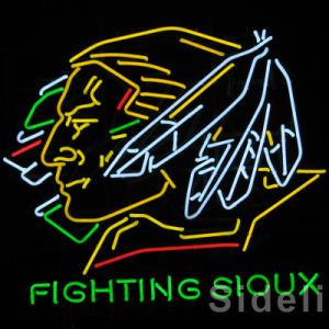 Fighting Sloux Neon Sign (SDL-144)