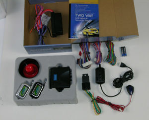 Two-Way LCD Vehicle Security System (CMT-FM-2)