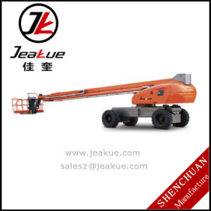 German Self-Propelled Aerial Work Platform with Telescope Boom pictures & photos
