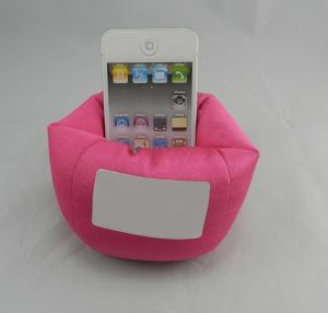 Phone Bean Bag, Made of Micro-Fiber with Polyfoam pictures & photos