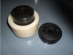 Hydraulic Pumps Curved Tooth Gear Connection