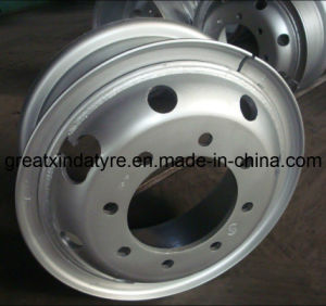 Truck Tube Steel Wheel (8.0-20, 7.50-20, 7.00-20) pictures & photos