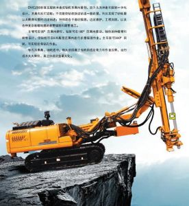 Hydraulic Track Rotary Percussive Drill pictures & photos