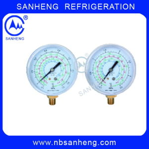 Compound Gauge with Good Quality for R410 pictures & photos