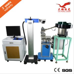 Marking on The Fly Machine Automated Laser Marking Machine pictures & photos