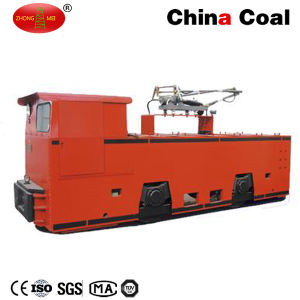 Cjy14/6gp 14t Underground Trolley Overhead Line Electric Mining Locomotive pictures & photos
