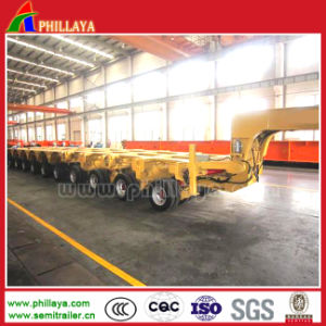 Multi Axle Hydraulic Lowbed Semi Trailer pictures & photos