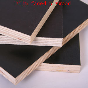 China Brown Black Film Faced Plywood Marine Shuttering Exterior Plywood Concrete Construction