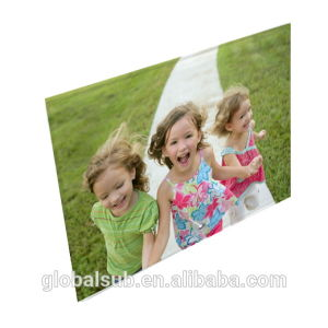 Sublimation Glass Photo Frame for Craft Gift