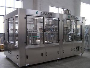 Rinsing/Hot Fillingcapping 3-in-1 Machine (DR32-32-10R)