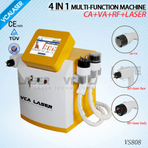 Cavitation RF Laser Vacuum Slimming Machine Weight Loss Equipment (VS808) pictures & photos