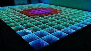 Magic LED 50*50cm LED Infinite 3D Dance Floor pictures & photos