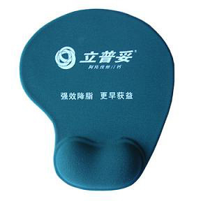 Wrist Rest Silicone Gel Mouse Pad with Logo Printing pictures & photos
