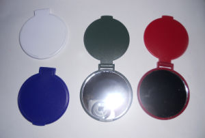 Plastic Pocket Makeup Mirror