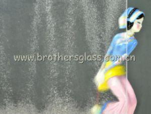 Clear Figured Glass-Chinchilla (BRG001)