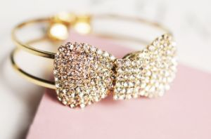 Hot Sale Butterfly Bracelet with Glass Stones