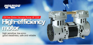 China High-Power Minitype Oil Free Piston Compressor HP-550c pictures & photos