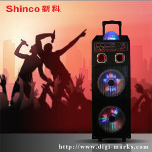 Rechargeable Tailgate Battery Powerd Bluetooth Remote Control Wireless Microphone Speaker pictures & photos