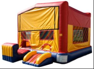 Inflatable Classic Module 5 in 1 Inflatable Combo (CZH-2054)