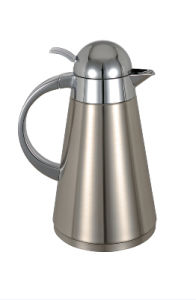 Solidware High Quality Stainless Steel Double Wall Vacuum Coffee Pot pictures & photos