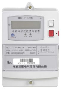Single-Phase PLC Static Meter (DDSI188 A1)