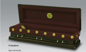 Luxes Us Wood Casket Manufacture for Funeral