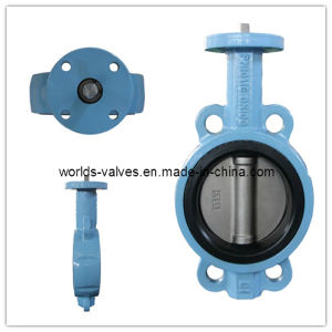 Bare Shaft Wafer Butterfly Control Valve with CE ISO Certificates (D7A1X-10/16) pictures & photos