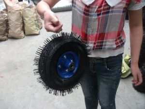 High Rubber Included Wheel 3.50-4