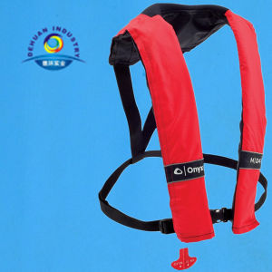 Manual Life Jackets for 150n Solas Approved Single Chamber