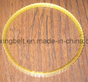 Steel Cord Open End PU Timing Belt High Tension pictures & photos