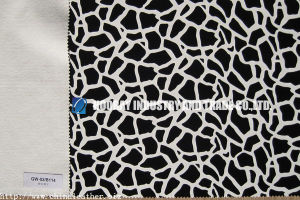 Flocking Synthetic Leather (HK-GW-02-b114)