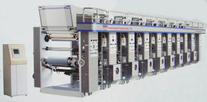 Computer Middle Rail Gravure Machine
